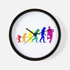 Gay Evolution Wall Clock