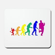 Gay Evolution Mousepad