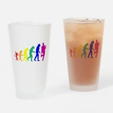 Gay Evolution Pint Glass