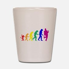 Gay Evolution Shot Glass