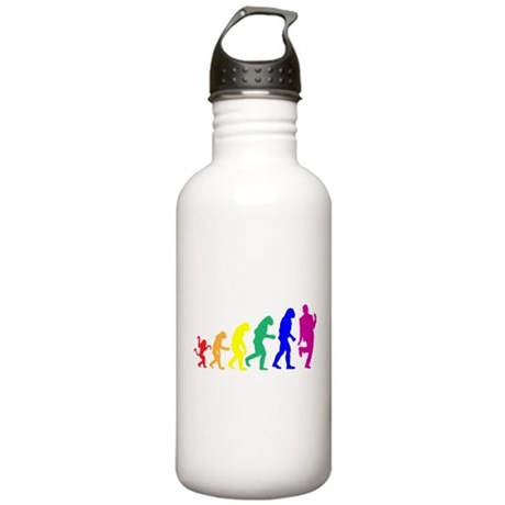 Gay Evolution Stainless Water Bottle 1.0L
