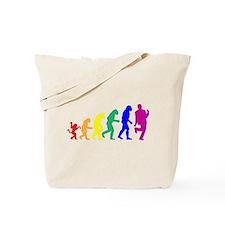 Gay Evolution Tote Bag
