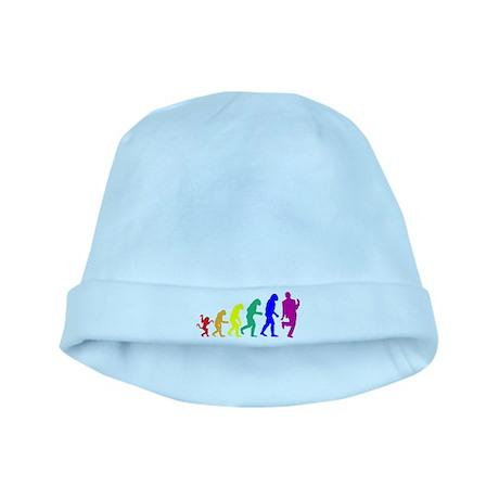 Gay Evolution baby hat