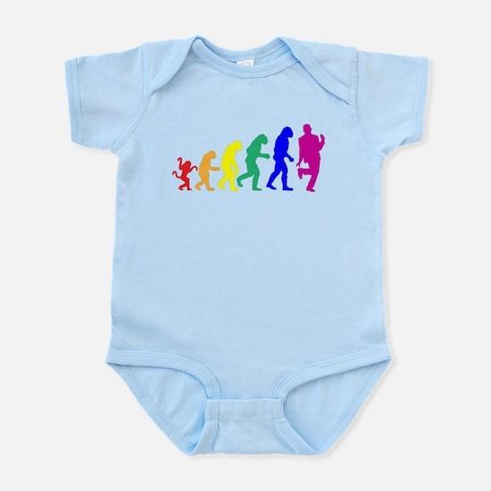 Gay Evolution Infant Bodysuit