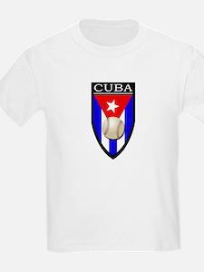 Cuba (Baseball) Patch T-Shirt