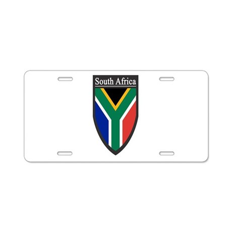 South Africa Patch Aluminum License Plate