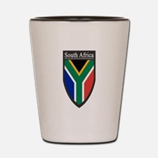 South Africa Patch Shot Glass