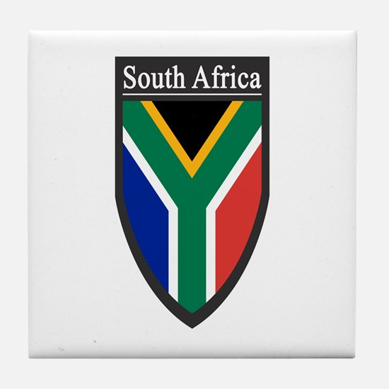 South Africa Patch Tile Coaster
