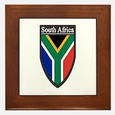 South Africa Patch Framed Tile
