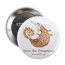 "Save Pangolins 2.25"" Button"