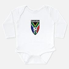 South Africa (Soccer) Long Sleeve Infant Bodysuit