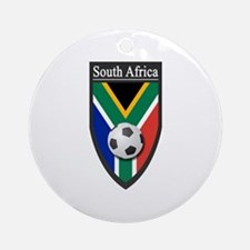 South Africa (Soccer) Ornament (Round)