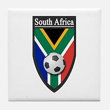 South Africa (Soccer) Tile Coaster