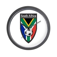 South Africa (Soccer) Wall Clock