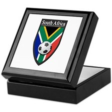 South Africa (Soccer) Keepsake Box