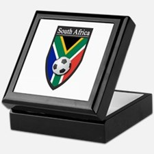 South Africa (Soccer) Keepsake Box