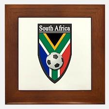 South Africa (Soccer) Framed Tile