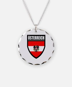 Osterreich Patch (2) - Necklace