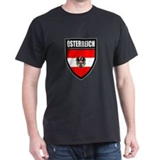 Osterreich Patch (2) - T-Shirt