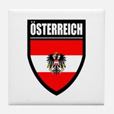 Osterreich Patch (2) - Tile Coaster