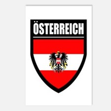 Osterreich Patch (2) - Postcards (Package of 8)
