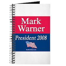 """""""Mark Warner President"""" Journal"""
