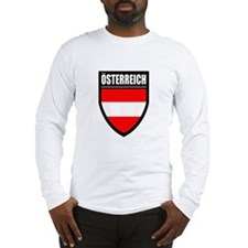 Osterreich Patch Long Sleeve T-Shirt
