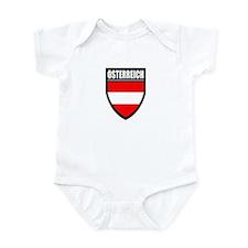 Osterreich Patch Infant Bodysuit