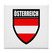 Osterreich Patch Tile Coaster