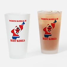 North Korea is Best Korea Pint Glass