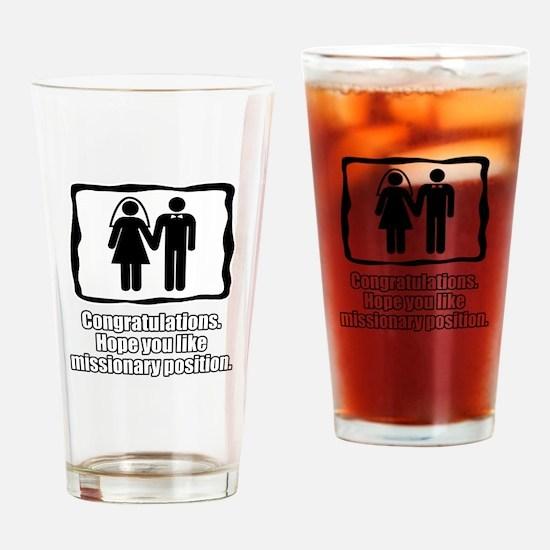 Hope you like missionary Pint Glass