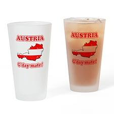 Austria - g'day mate Pint Glass
