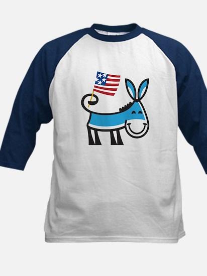 Democrat Donkey Kids Baseball Jersey