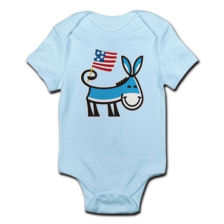 Democrat Donkey Infant Bodysuit