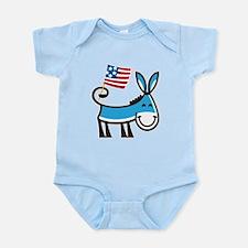 Democrat Donkey Onesie