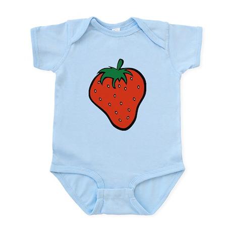 Strawberry Icon Infant Bodysuit