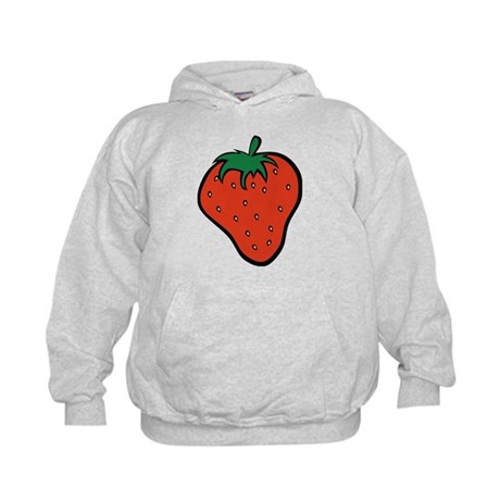 Strawberry Icon Kids Hoodie