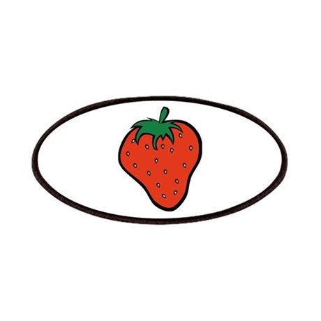 Strawberry Icon Patches