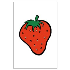 Strawberry Icon Posters