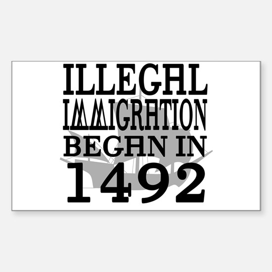 1492 Rectangle Decal