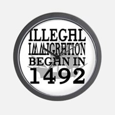 1492 Wall Clock