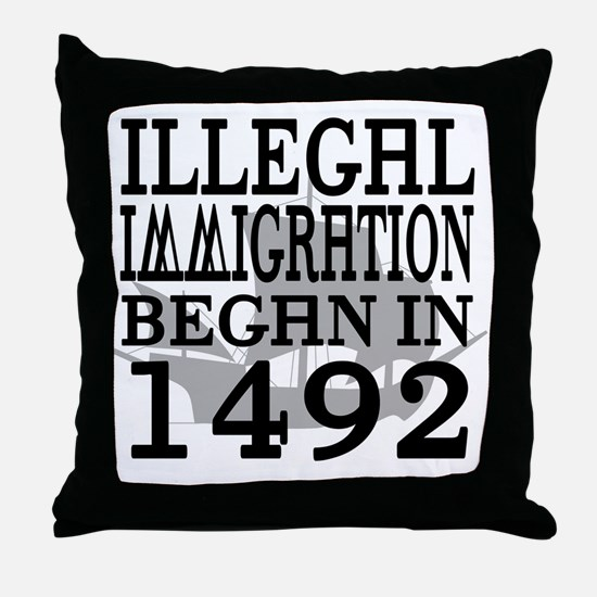1492 Throw Pillow