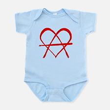 No Master But love Infant Bodysuit