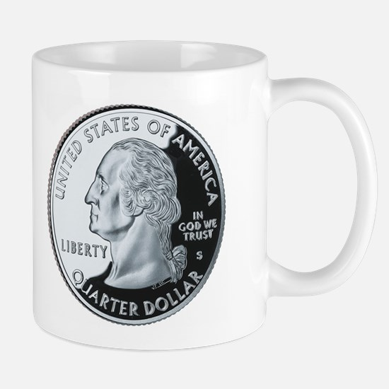 Unique Washington state quarter Mug