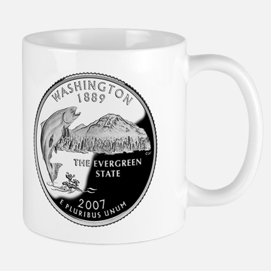 Cute Washington state quarter Mug