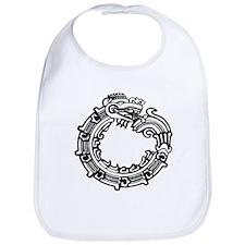 Aztec Ouroboros Symbol Bib