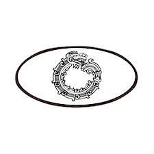 Aztec Ouroboros Symbol Patches