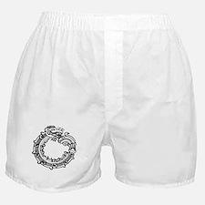 Aztec Ouroboros Symbol Boxer Shorts