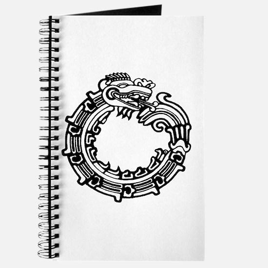 Aztec Ouroboros Symbol Journal
