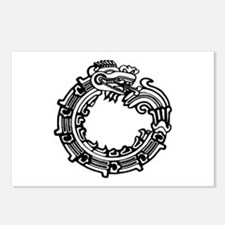 Aztec Ouroboros Symbol Postcards (Package of 8)